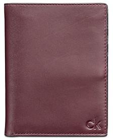 Men's Leather Passport Case