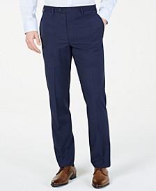 Men's Classic-Fit UltraFlex  Stretch Windowpane Dress Pants