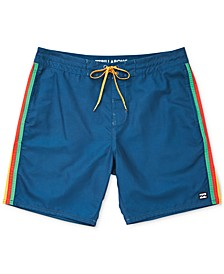 Men's Stripe Board Shorts