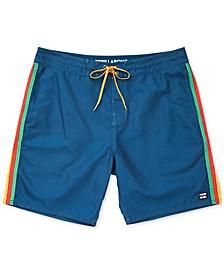 Men's Stripe Board Shorts