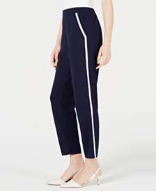 Maison Jules Pull-On Pants, Created for Macy's