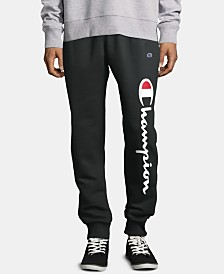 Champion Men's Powerblend Fleece Logo Joggers
