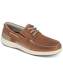 Dockers Men's Beacon Leather Casual Boat Shoe with NeverWet