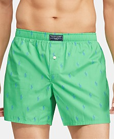Polo Ralph Lauren Men's Woven Cotton Boxers