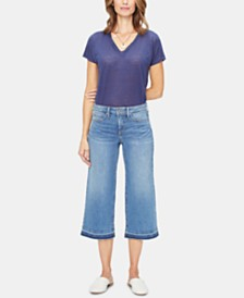 NYDJ Released-Hem Capri Jeans
