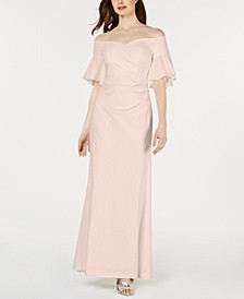 Sweetheart Off-The-Shoulder Gown