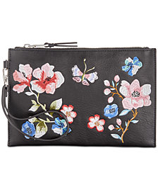 I.N.C. Kelindo Embroidered Party Wristlet, Created for Macy's