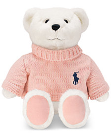 Receive a complimentary teddy bear with any large spray purchase from the Ralph Lauren Romance Fragrance Collection