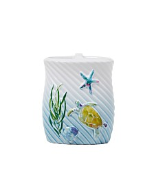 Saturday Knight Ltd. Watercolor Ocean Toothbrush Holder