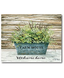 "Farmhouse welcome Gallery-Wrapped Canvas Wall Art - 16"" x 20"""