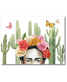 """Frida's Flowers Collection Gallery-Wrapped Canvas Wall Art - 16"""" x 20"""""""
