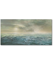 """Seascape Gallery-Wrapped Canvas Wall Art - 12"""" x 24"""""""