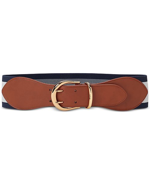Lauren Ralph Lauren Cornwall II Stretch Plus-Size Belt