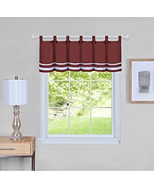 Dakota Window Curtain Valance, 58x14