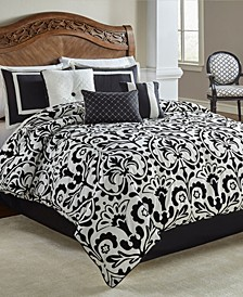 Becca 7 Pc Queen Comforter Set