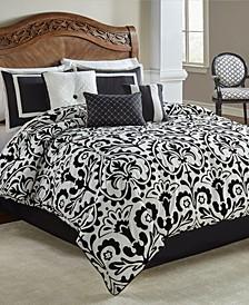 Becca 7 Pc Queen Comforter Set