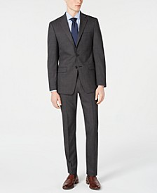 Men's Slim-Fit Stretch Solid Suit Separates