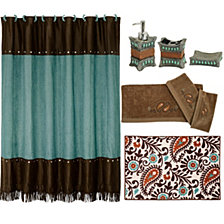 HiEnd Accents 20-Pc. Cheyenne Bathroom Set