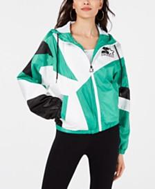 Starter Colorblocked Hooded Active Jacket