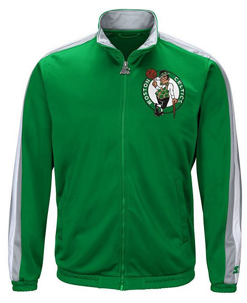 7eb8bd204 ... G-III Sports Men's Boston Celtics The Challenger Starter Track Jacket  ...
