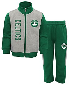Outerstuff Boston Celtics On the Line Pant Set, Infants (12-24 months)