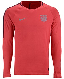 Men's FC Barcelona Long Sleeve Squad T-Shirt