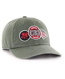 '47 Brand Toronto Raptors Diamond Patch CLEAN UP MF Cap