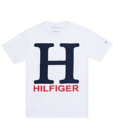 Tommy Hilfiger Big Boys Jason Logo T-Shirt