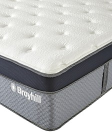 "Broyhill 12"" Twin XL Norwich Cooling Gel Memory Foam Hybrid Innerspring Medium Firm Plush Mattress"