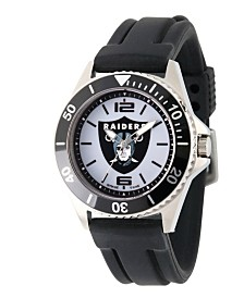 Gametime NFL Oakland Raiders Men's Stainless Steel Honor Watch
