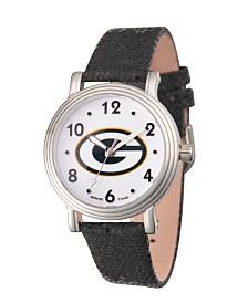 Gametime NFL Green Bay Packers Women's Silver Vintage Alloy Watch