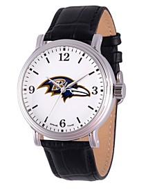 Gametime NFL Baltimore Ravens Men's Shiny Silver Vintage Alloy Watch