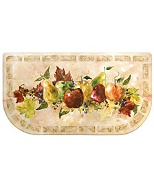 Cook N Comfort Napa Valley Fruit Embossed Cushioned Anti-Fatigue Kitchen Mat