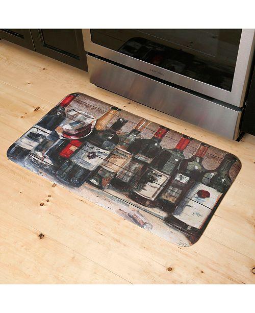 David Burke Premier Wine Collection Cushioned Anti-Fatigue Kitchen Mat