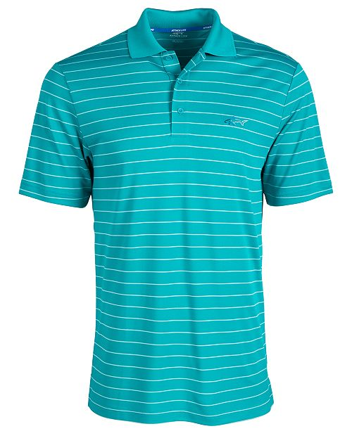 Greg Norman Men's 5 Iron Stripe Polo, Created for Macy's