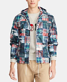 Polo Ralph Lauren Men's Patchwork Packable Jacket