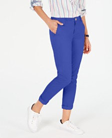 Tommy Hilfiger Hampton Straight-Leg Pants