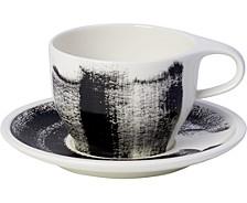 Coffee Passion Awake Café Au Lait Cup and Saucer Set