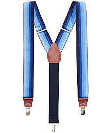 Club Room Men's Striped Suspenders, Created for Macy's