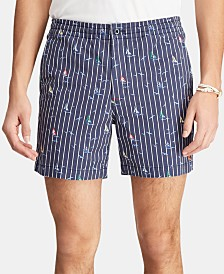 "Polo Ralph Lauren Men's Classic-Fit 6"" Polo Prepster Shorts"