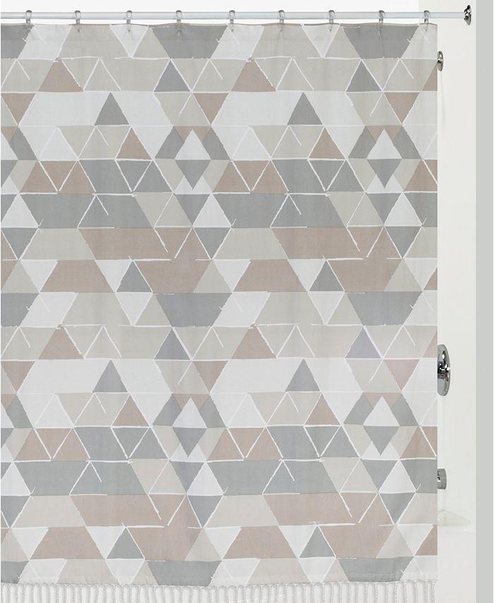 Creative Bath - Triangles Shower Curtain