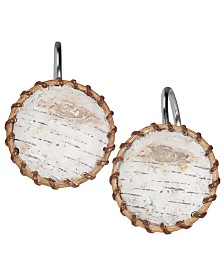 Hautman Brothers White Birch Shower Curtain Hooks