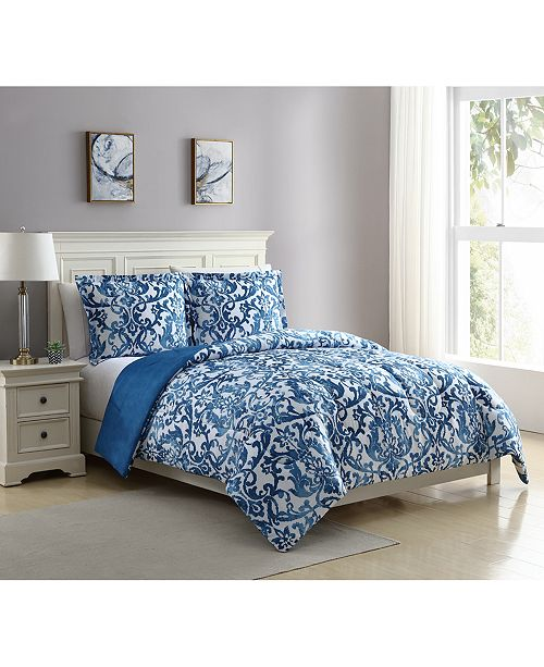 Ellison First Asia Wainscott Reversible 3-Pc. Mini Comforter Sets