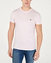 f54b63aa Lacoste Men's Crew-Neck Pima Cotton T-Shirt