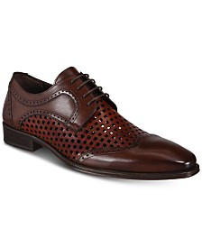 Mezlan Men's Tone Perforated Lace-Up Shoes