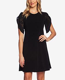 CeCe Lace Fit & Flare Dress