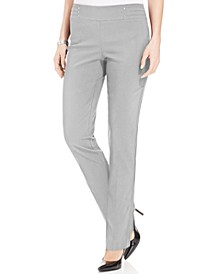 Studded Pull-On Pants, Petite & Petite Short, Created for Macy's