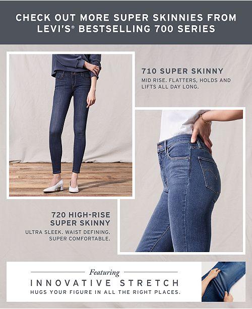 4e4dfed1210df Levi s 535™ Super Skinny Jeans   Reviews - Jeans - Women - Macy s