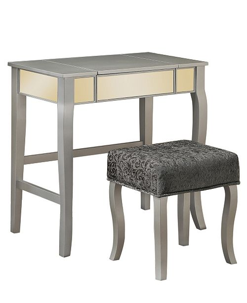 Linon Home Décor Harper Vanity Set With Bench And Mirror