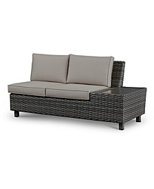 Lake Toba Aluminum Outdoor Right Sectional Unit, Created for Macy's